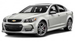 Chevrolet SS tire size