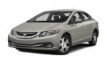Honda Civic Hybrid rims and wheels photo