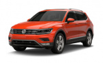 Volkswagen Tiguan Limited rims and wheels photo