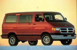 Photo 1999 Dodge  Ram Wagon 3500