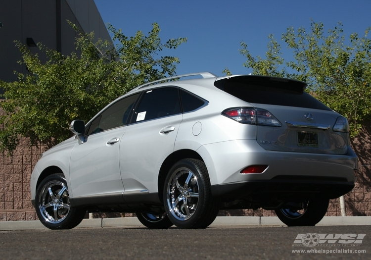 photo 1 Lexus RX 350 custom wheels Giovanna Gianelle Spezia-5 20x, ET , tire size / R20. x ET