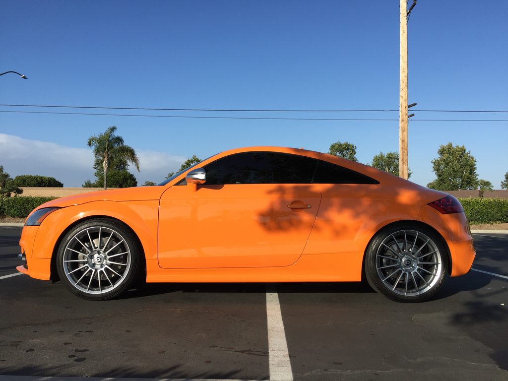 photo 4 Audi TTS custom wheels HRE FF15 19x9.5, ET +45, tire size 255/35 R19. x ET