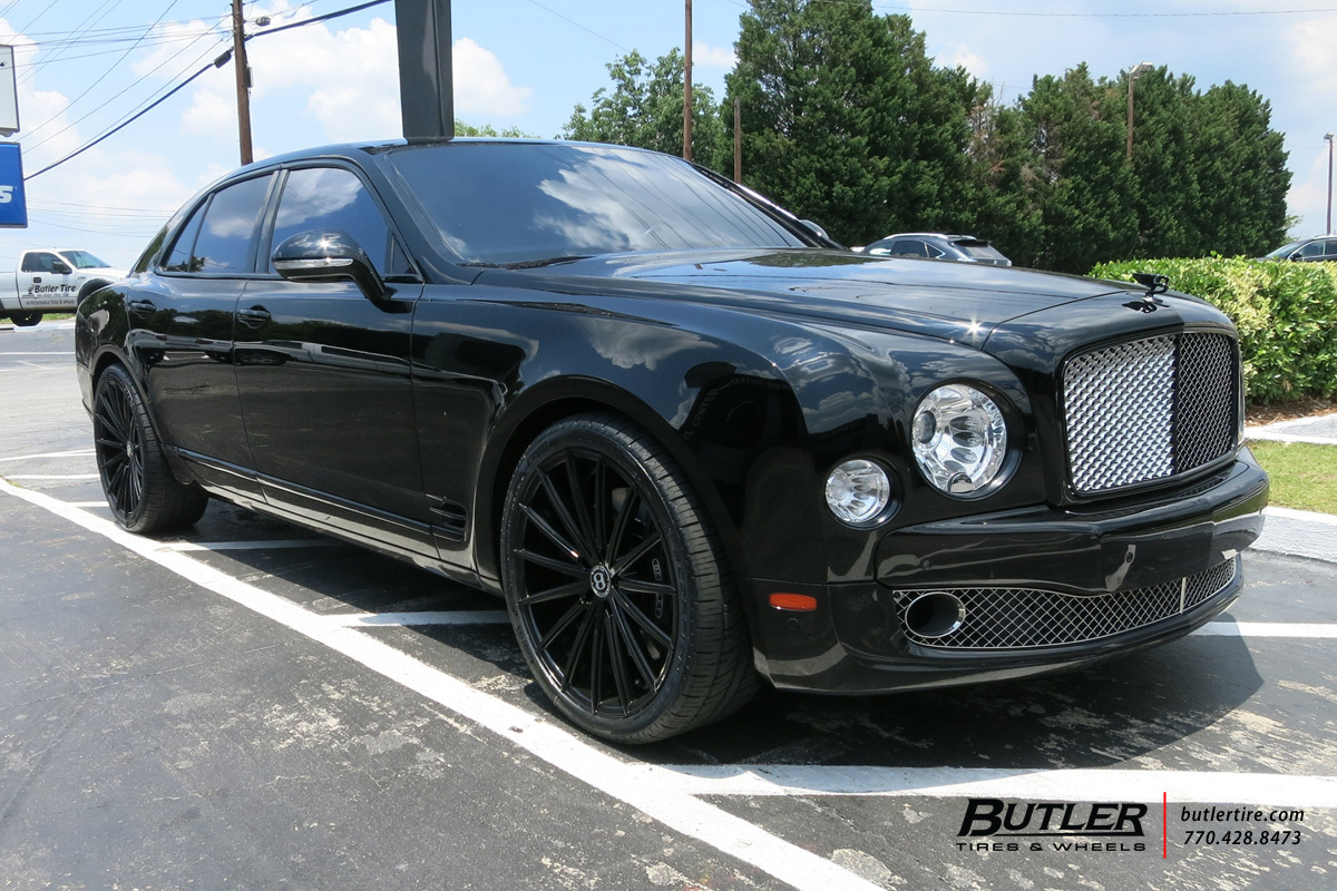 photo 2 Bentley Mulsanne Wheels Lexani Pegasus 22x, ET , tire size / R22. x ET
