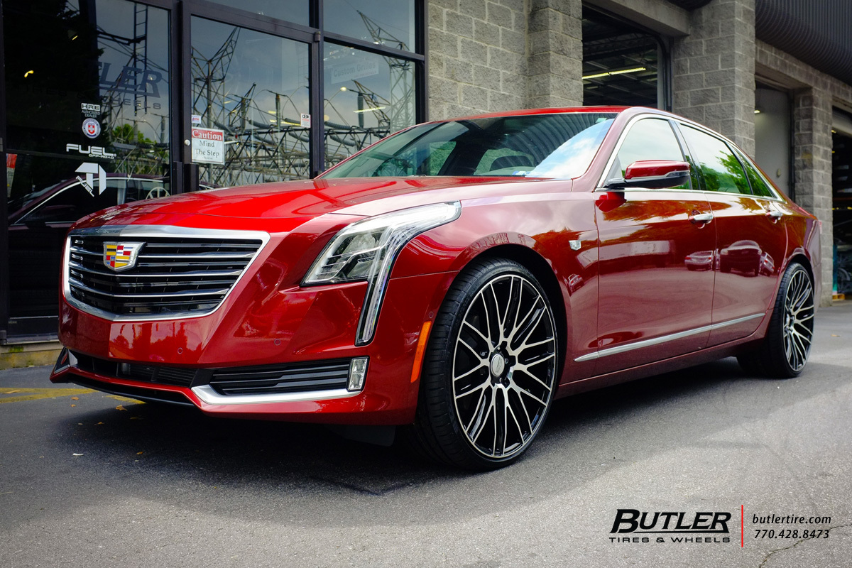 photo 2 Cadillac CT6 custom wheels Savini BM13 22x, ET , tire size / R22. x ET