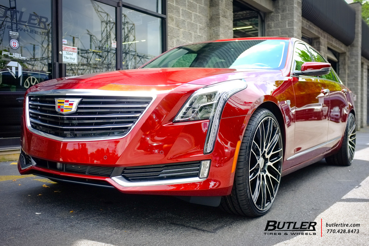 photo 3 Cadillac CT6 custom wheels Savini BM13 22x, ET , tire size / R22. x ET
