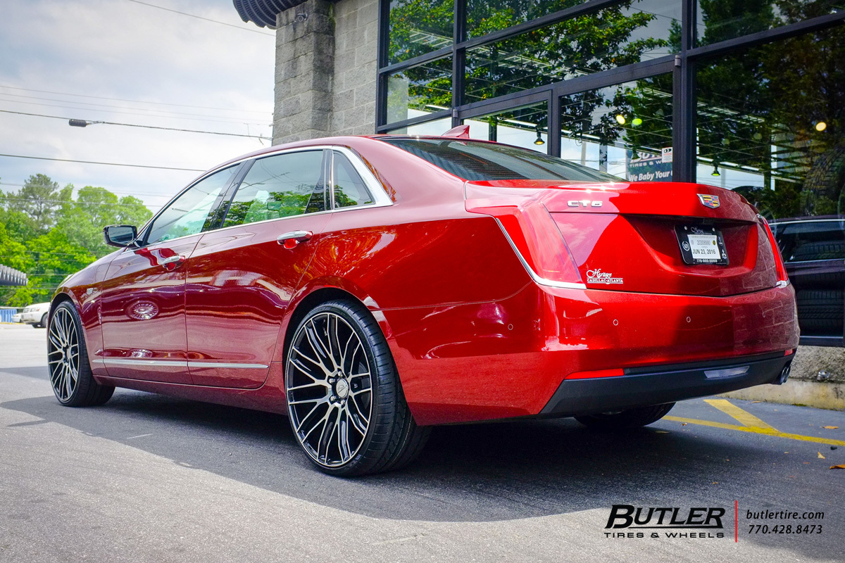 photo 4 Cadillac CT6 custom wheels Savini BM13 22x, ET , tire size / R22. x ET