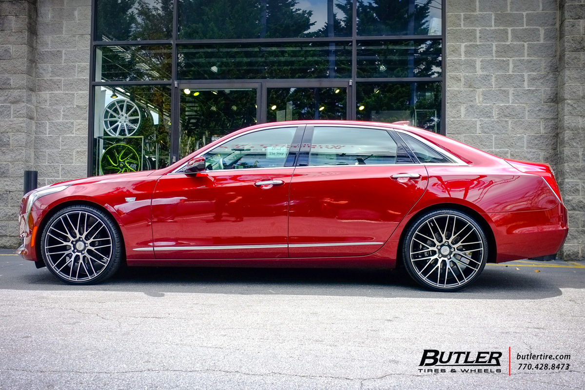 photo 5 Cadillac CT6 custom wheels Savini BM13 22x, ET , tire size / R22. x ET