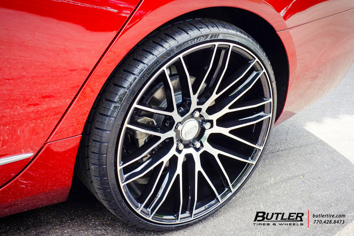 photo 1 Cadillac CT6 custom wheels Savini BM13 22x, ET , tire size / R22. x ET