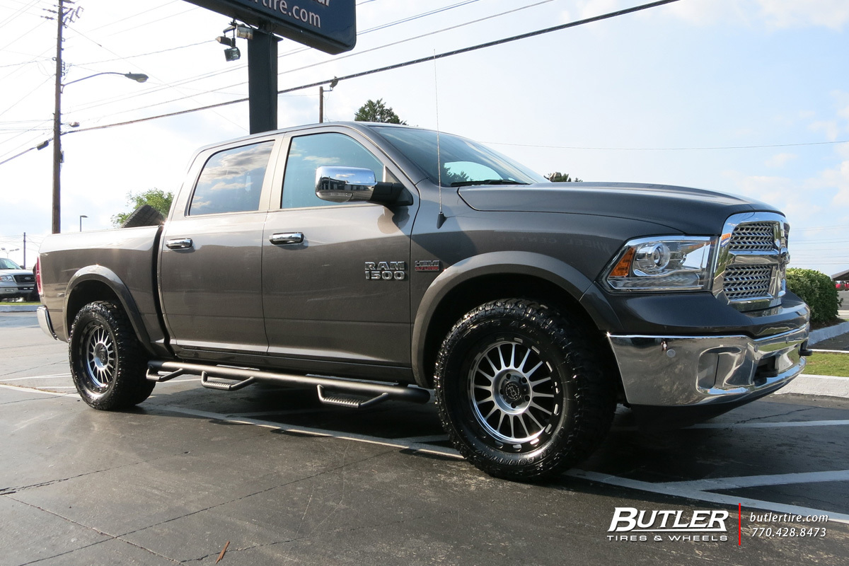 photo 2 RAM 1500 custom wheels Black Rhino Taupo 20x, ET , tire size / R20. x ET