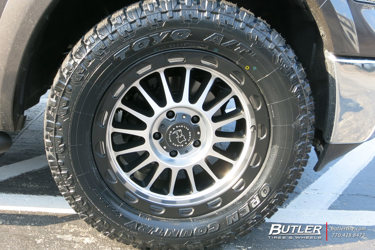 photo 1 RAM 1500 custom wheels Black Rhino Taupo 20x, ET , tire size / R20. x ET