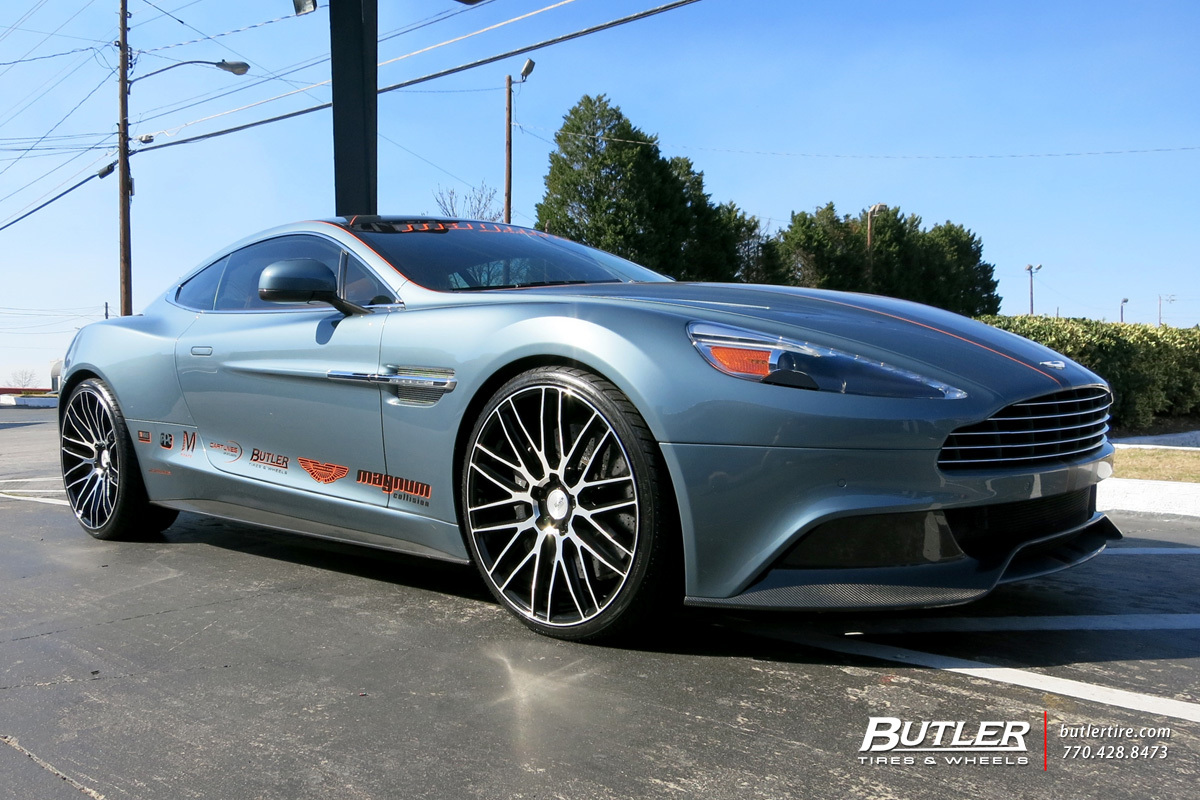 photo 2 Aston Martin Vanquish custom wheels Savini BM13 22x, ET , tire size / R22. x ET