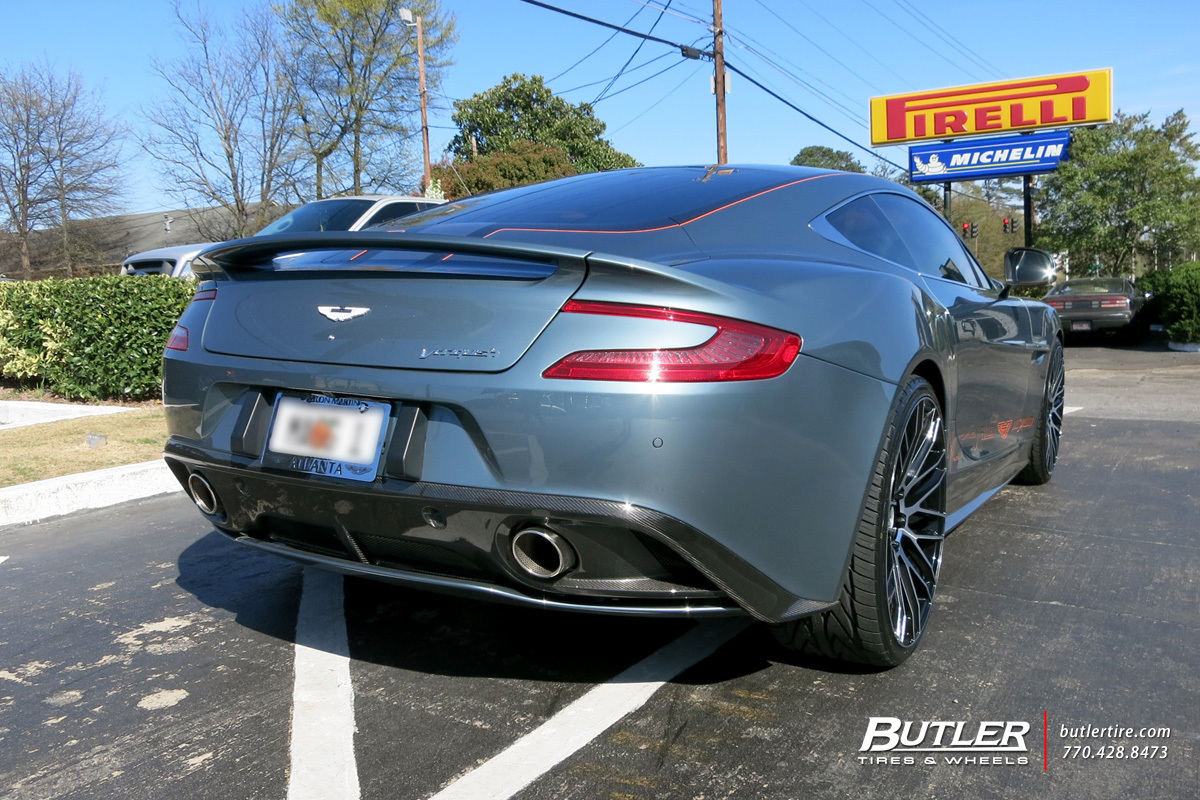 photo 3 Aston Martin Vanquish custom wheels Savini BM13 22x, ET , tire size / R22. x ET