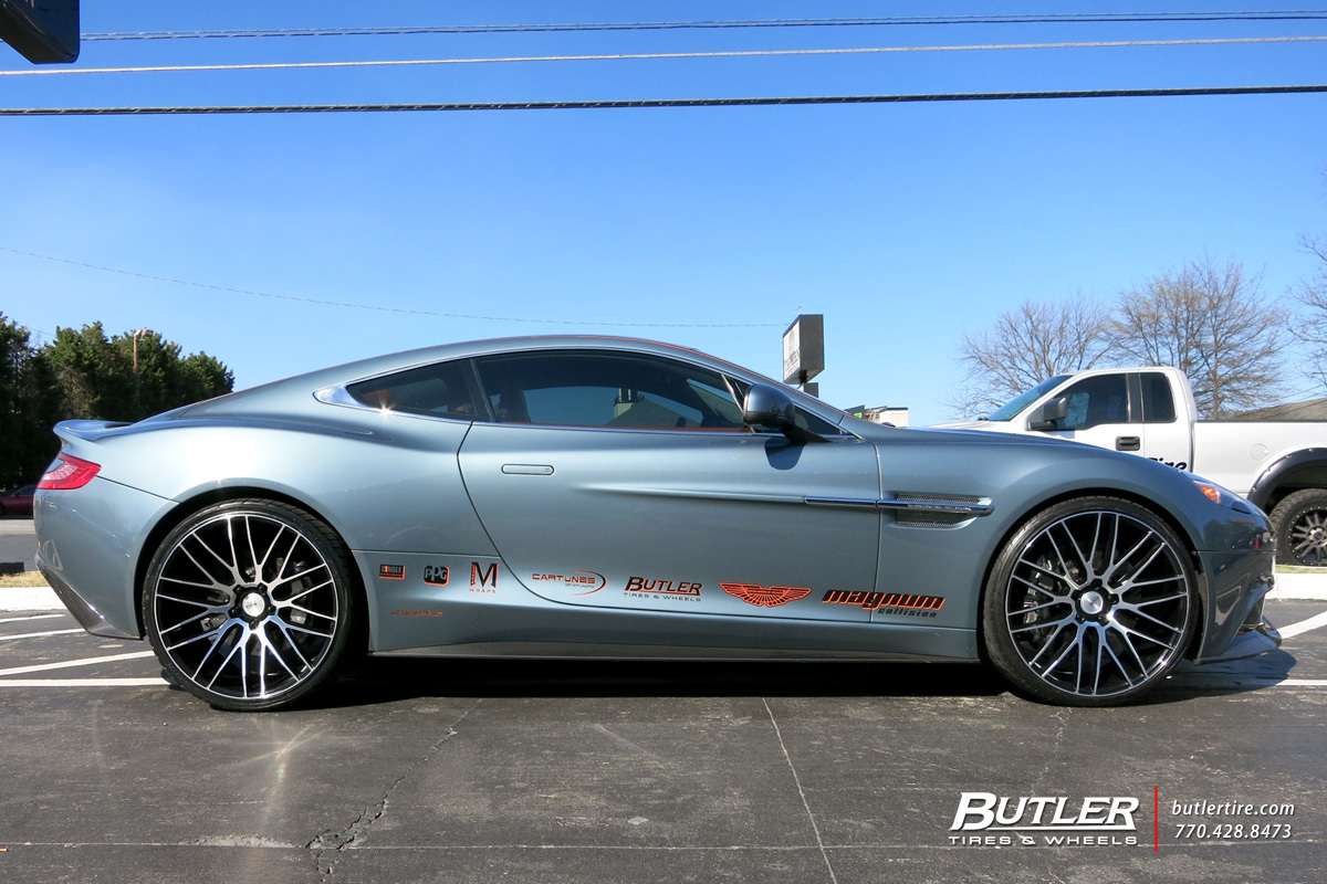 photo 4 Aston Martin Vanquish custom wheels Savini BM13 22x, ET , tire size / R22. x ET