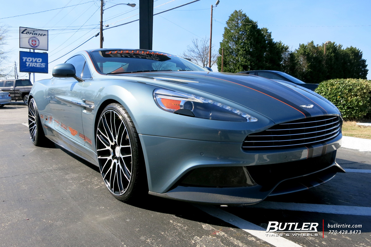 photo 5 Aston Martin Vanquish custom wheels Savini BM13 22x, ET , tire size / R22. x ET