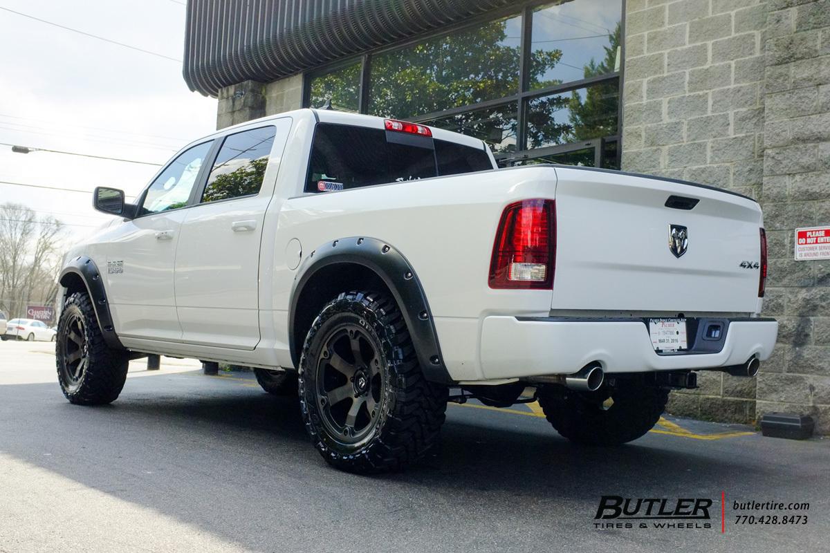photo 3 RAM 1500 custom wheels Fuel Beast 20x, ET , tire size / R20. x ET