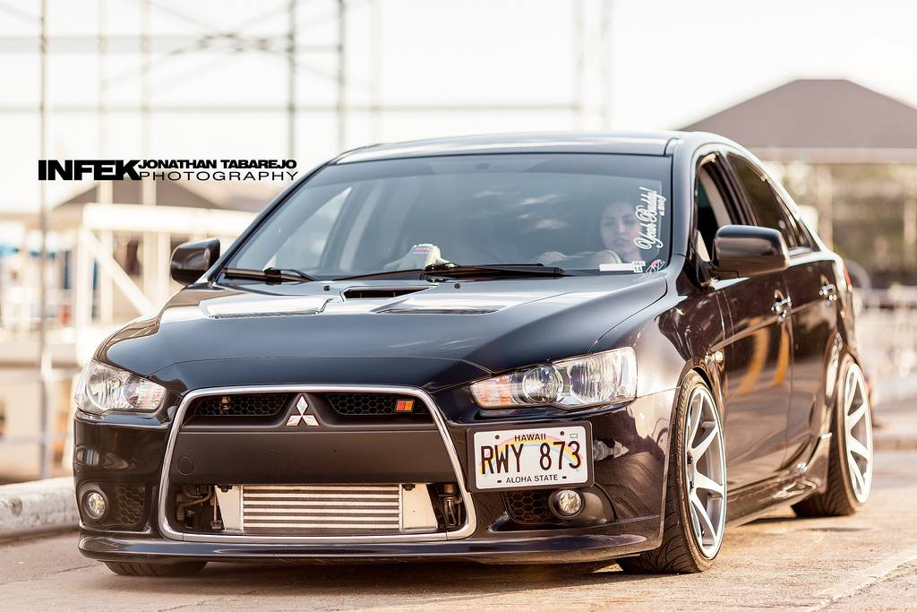 photo 6 Mitsubishi Lancer Sportback Wheels MB Battles 18x9.5, ET +10, tire size 215/40 R18. x ET