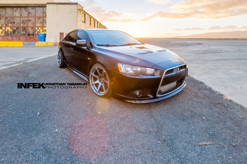 photo 1 Mitsubishi Lancer Sportback Wheels MB Battles 18x9.5, ET +10, tire size 215/40 R18. x ET