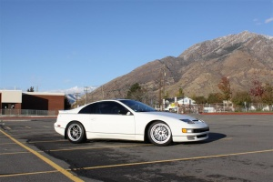 Nissan 300ZX 2-seat tire size
