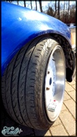 BMW  318 tire size