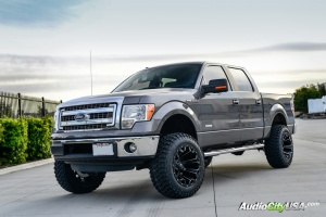 Ford F-150 tire size