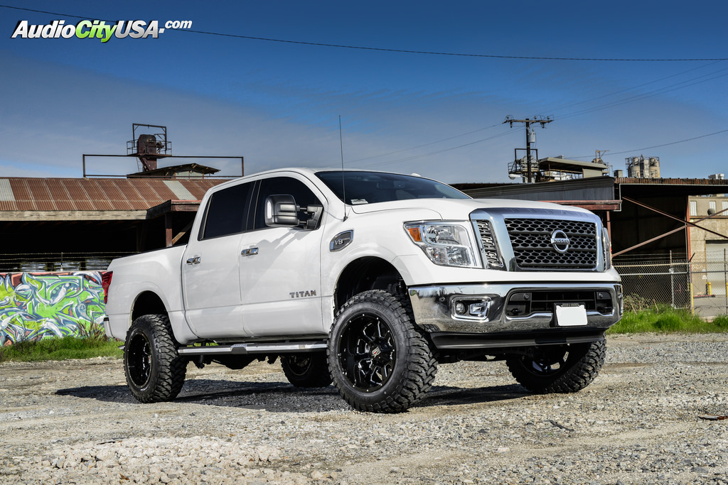 photo 2 Nissan Titan custom wheels XD Buck XD825 20x12.0, ET , tire size 315/50 R20. x ET