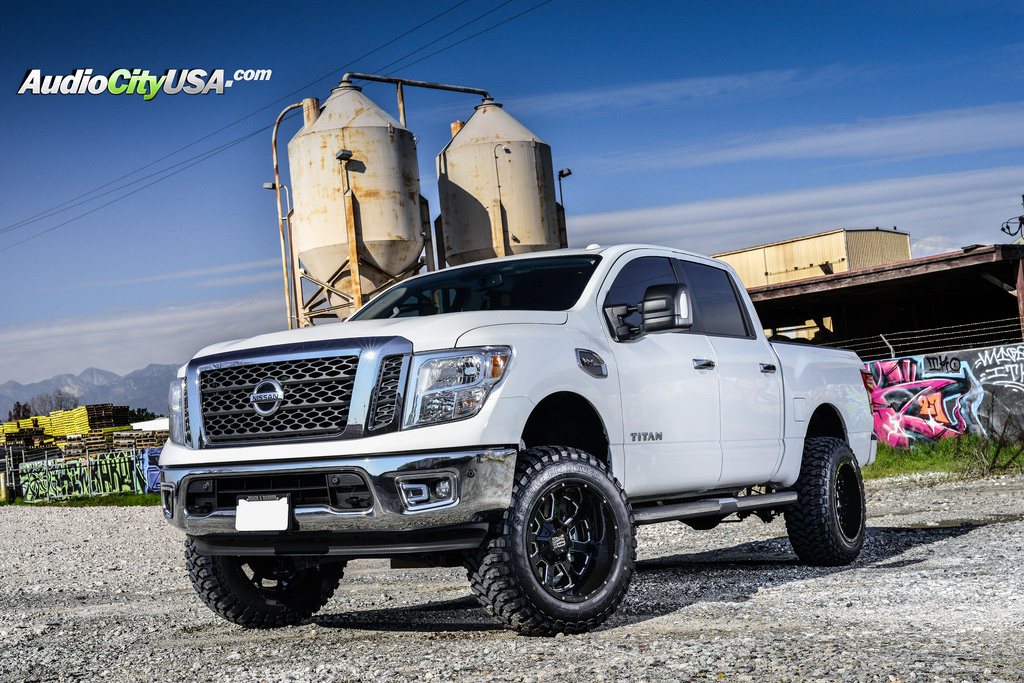 photo 4 Nissan Titan custom wheels XD Buck XD825 20x12.0, ET , tire size 315/50 R20. x ET