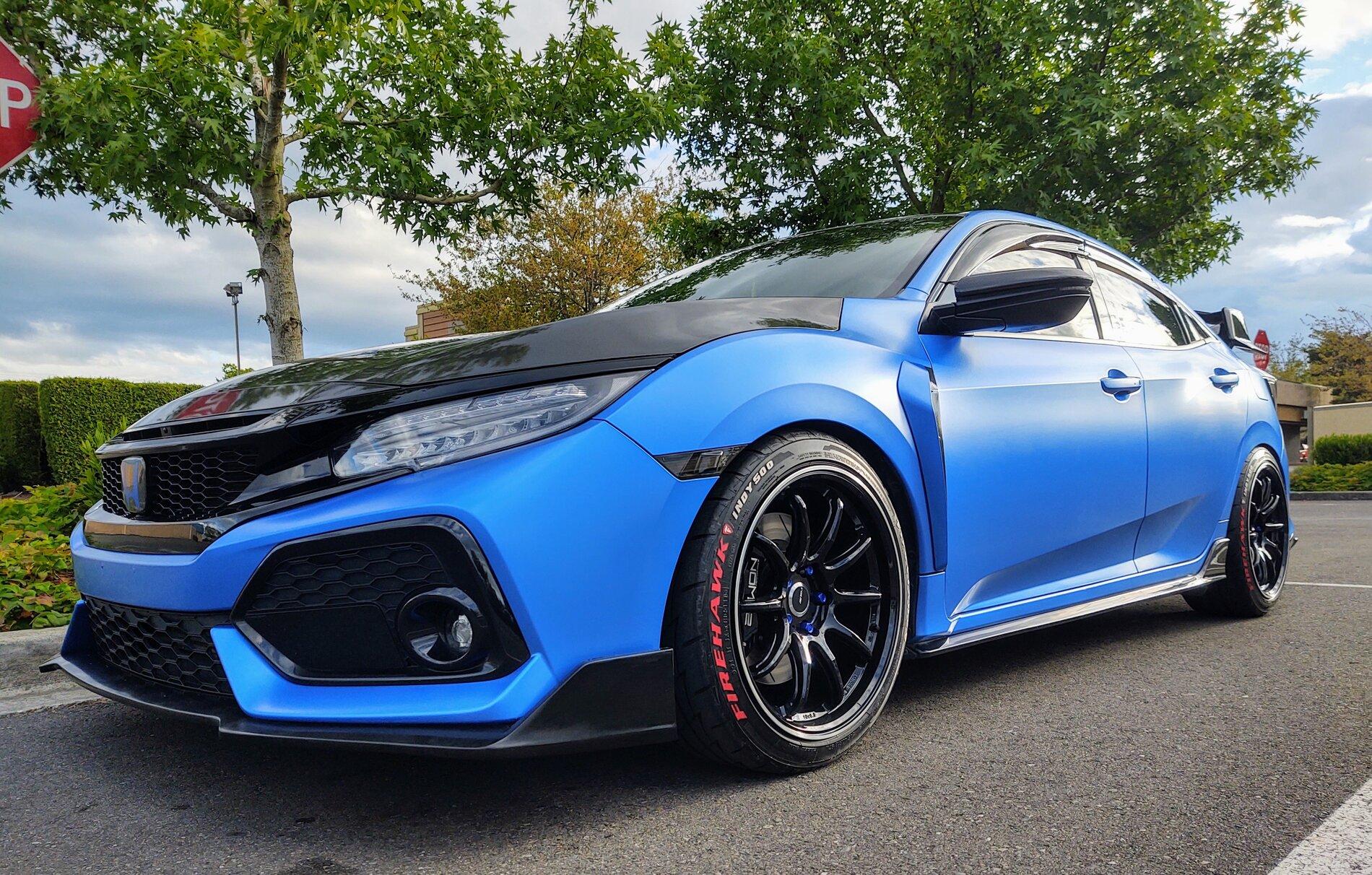 photo 1 Honda Civic Wheels   18x9.5, ET +38, tire size 245/40 R18. x ET