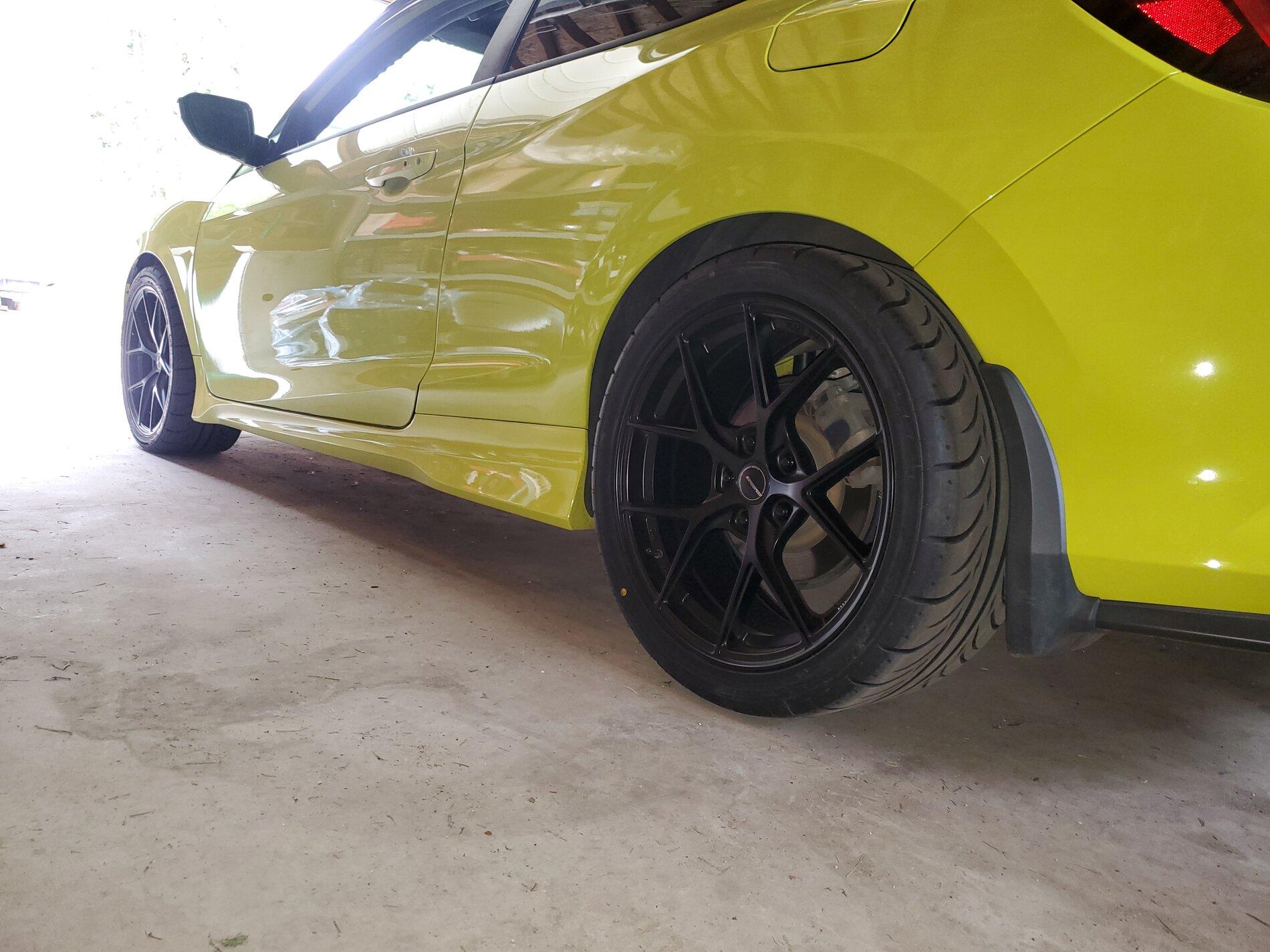 photo 1 Honda Civic Wheels   18x8.5, ET +35, tire size 255/35 R18. x ET