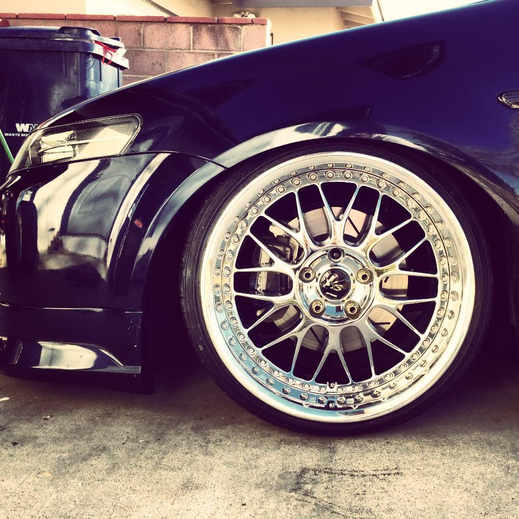 Acura TL Custom Wheels Work VS-XX 18x9.5, ET +19, Tire