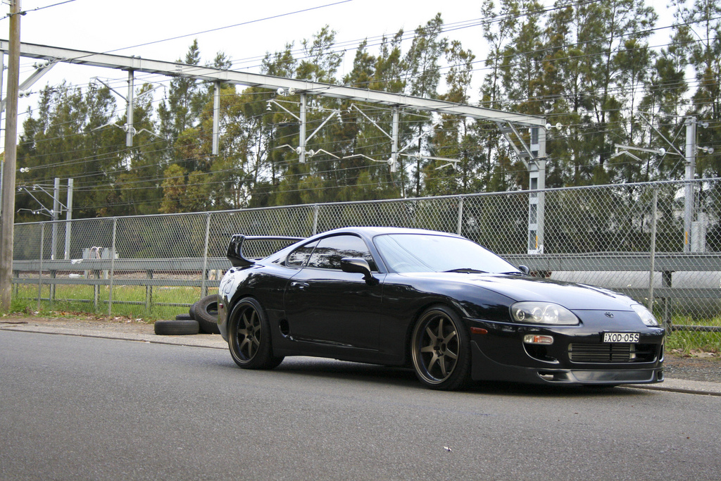 photo 5 Toyota Supra custom wheels WedsSport SA-90 19x9.5, ET +20, tire size 235/35 R19. 19x10.5 ET+20 275/30 R19