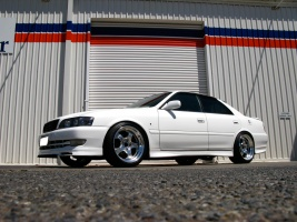 Toyota Chaser tire size