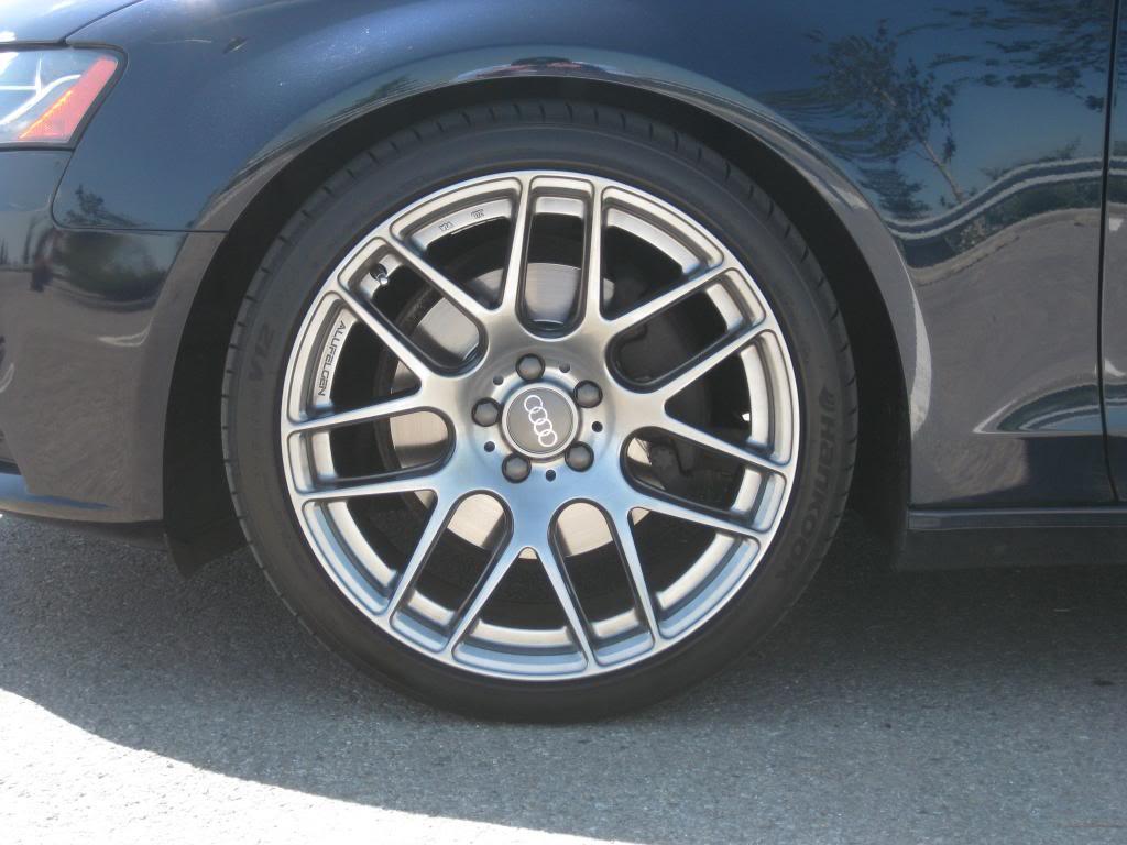 photo 1 Audi TTS custom wheels Alufelgen  SF-71 19x9.5, ET +42, tire size 255/35 R19. x ET