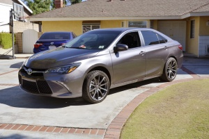 Toyota Camry tire size
