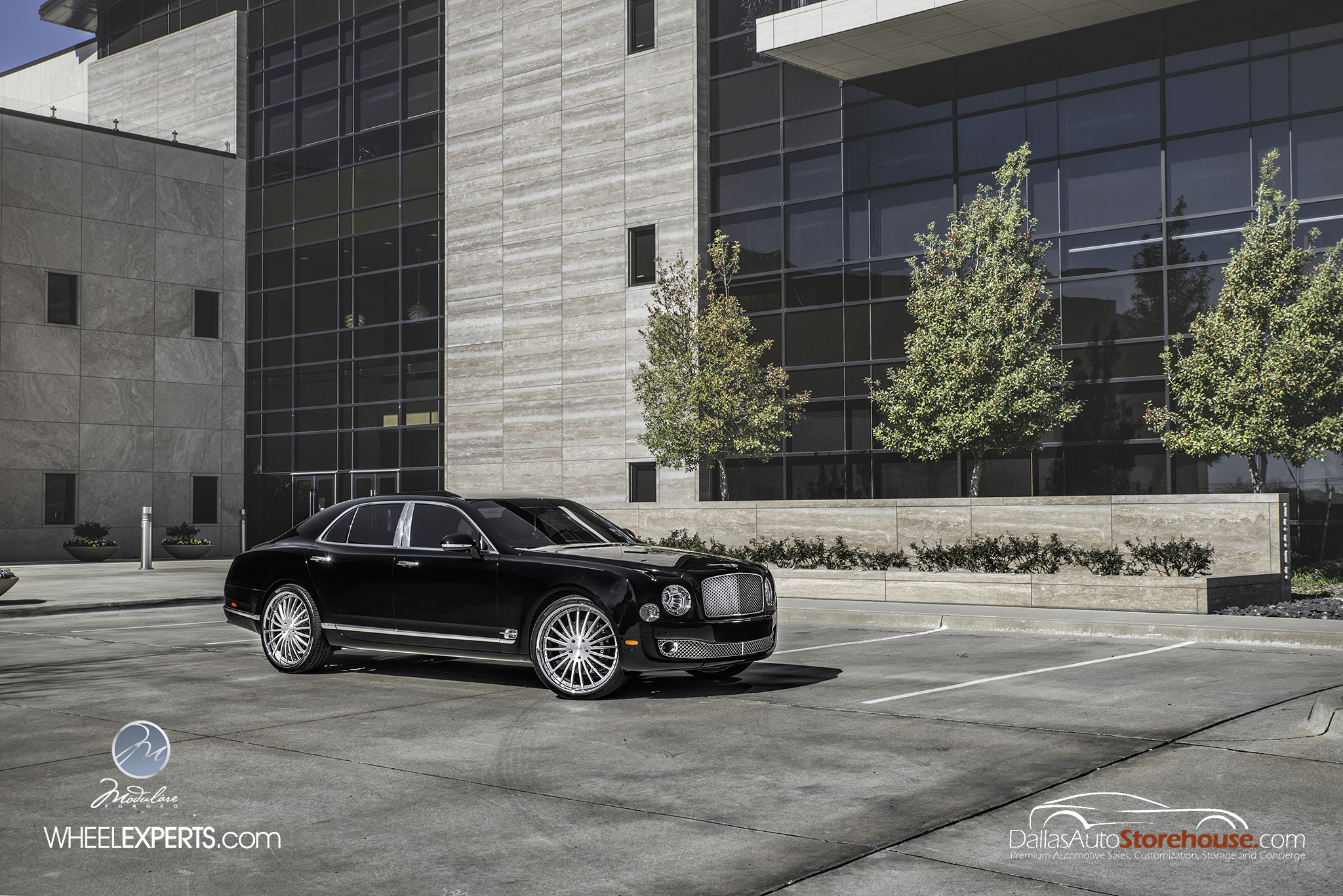 photo 2 Bentley Mulsanne Wheels Modulare M20 24x10.0, ET , tire size 285/30 R24. x ET