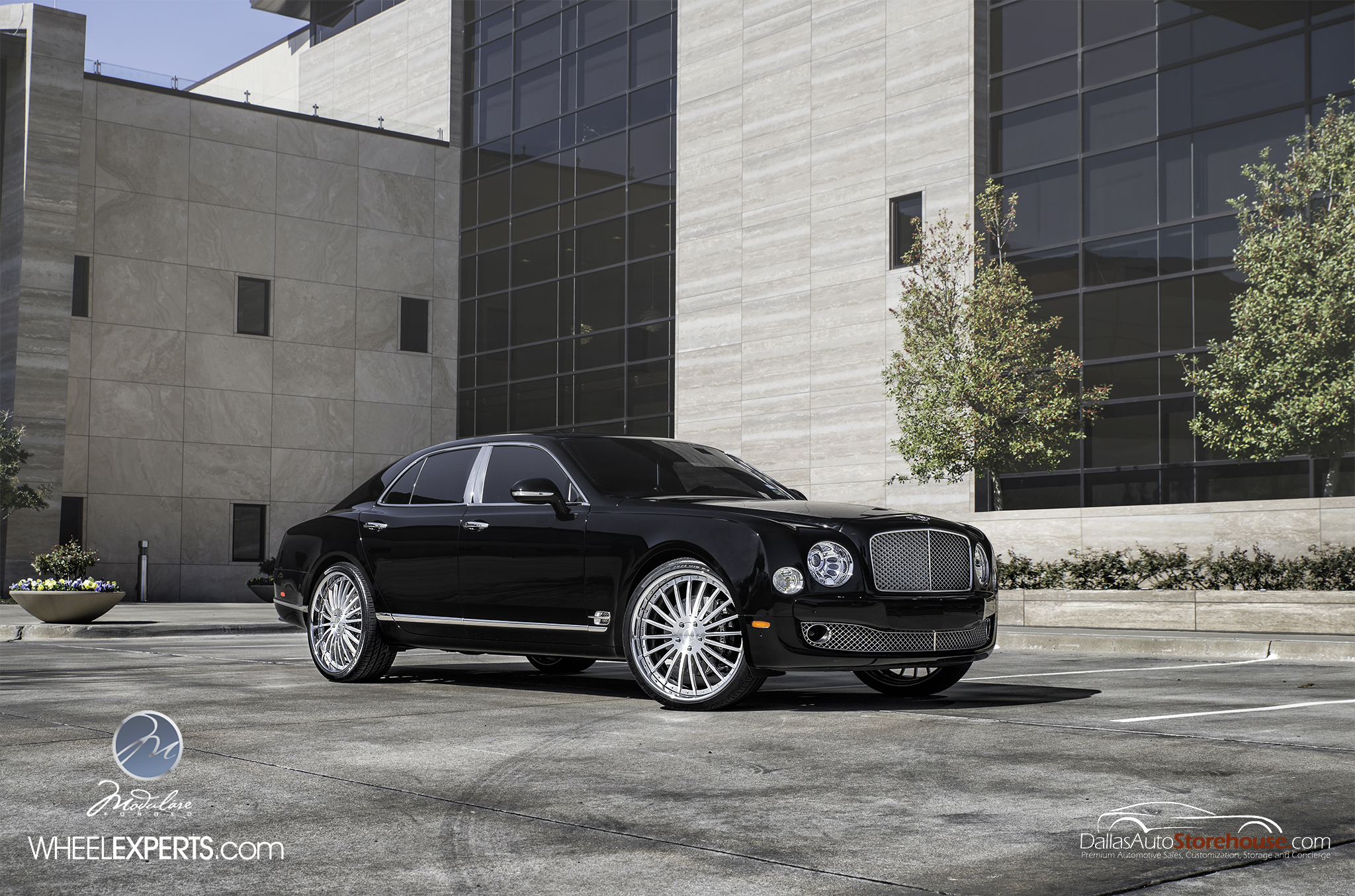 photo 4 Bentley Mulsanne Wheels Modulare M20 24x10.0, ET , tire size 285/30 R24. x ET