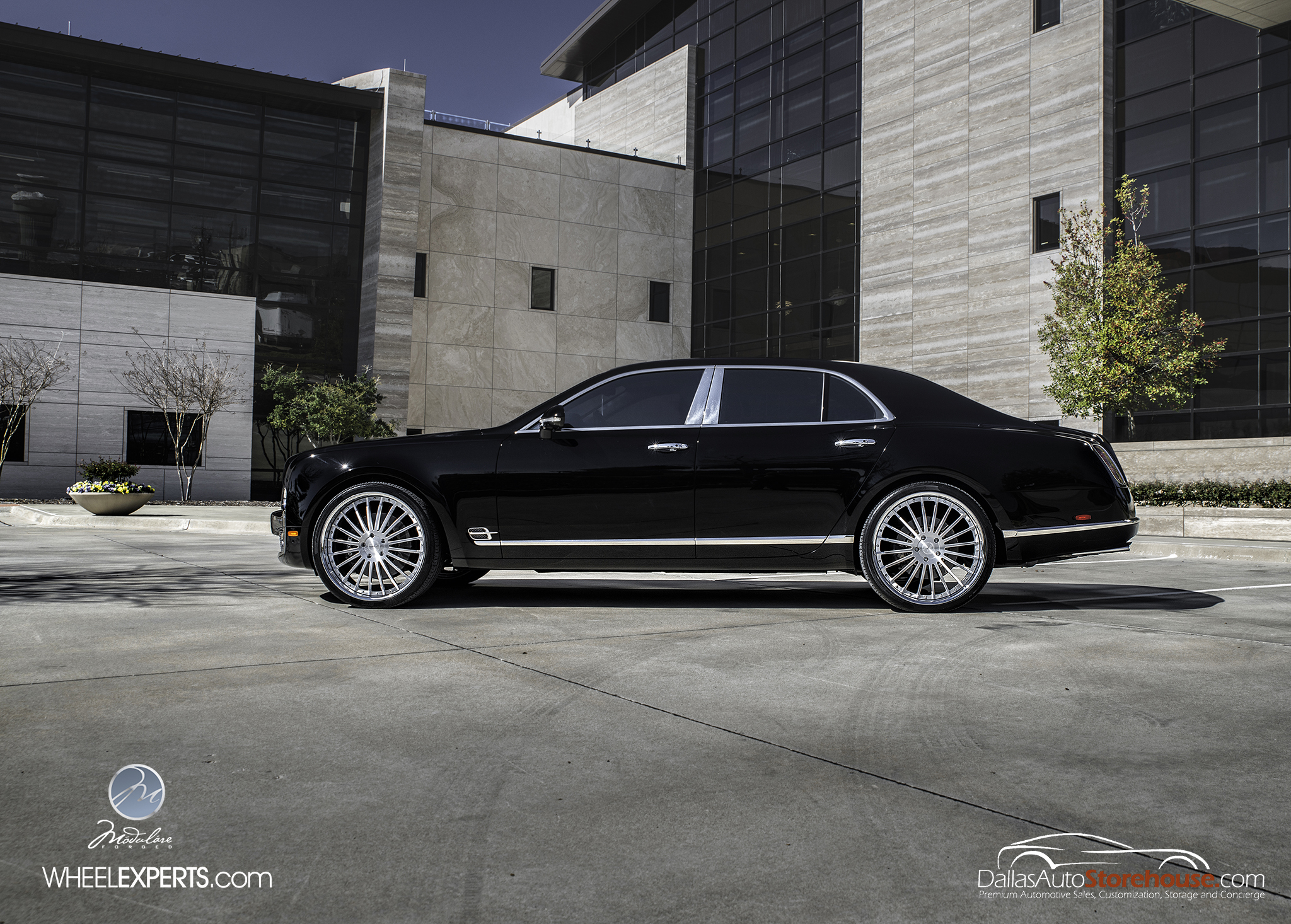 photo 5 Bentley Mulsanne Wheels Modulare M20 24x10.0, ET , tire size 285/30 R24. x ET