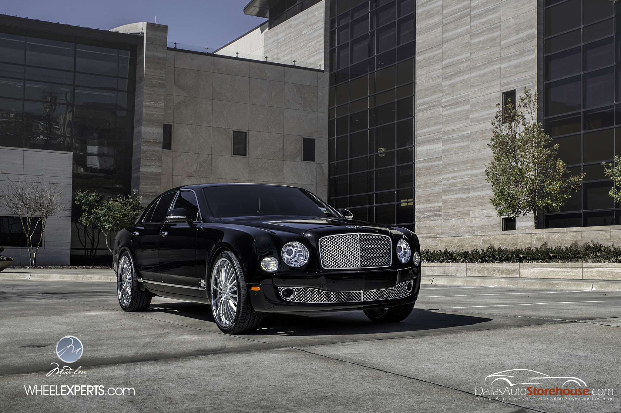 photo 6 Bentley Mulsanne Wheels Modulare M20 24x10.0, ET , tire size 285/30 R24. x ET