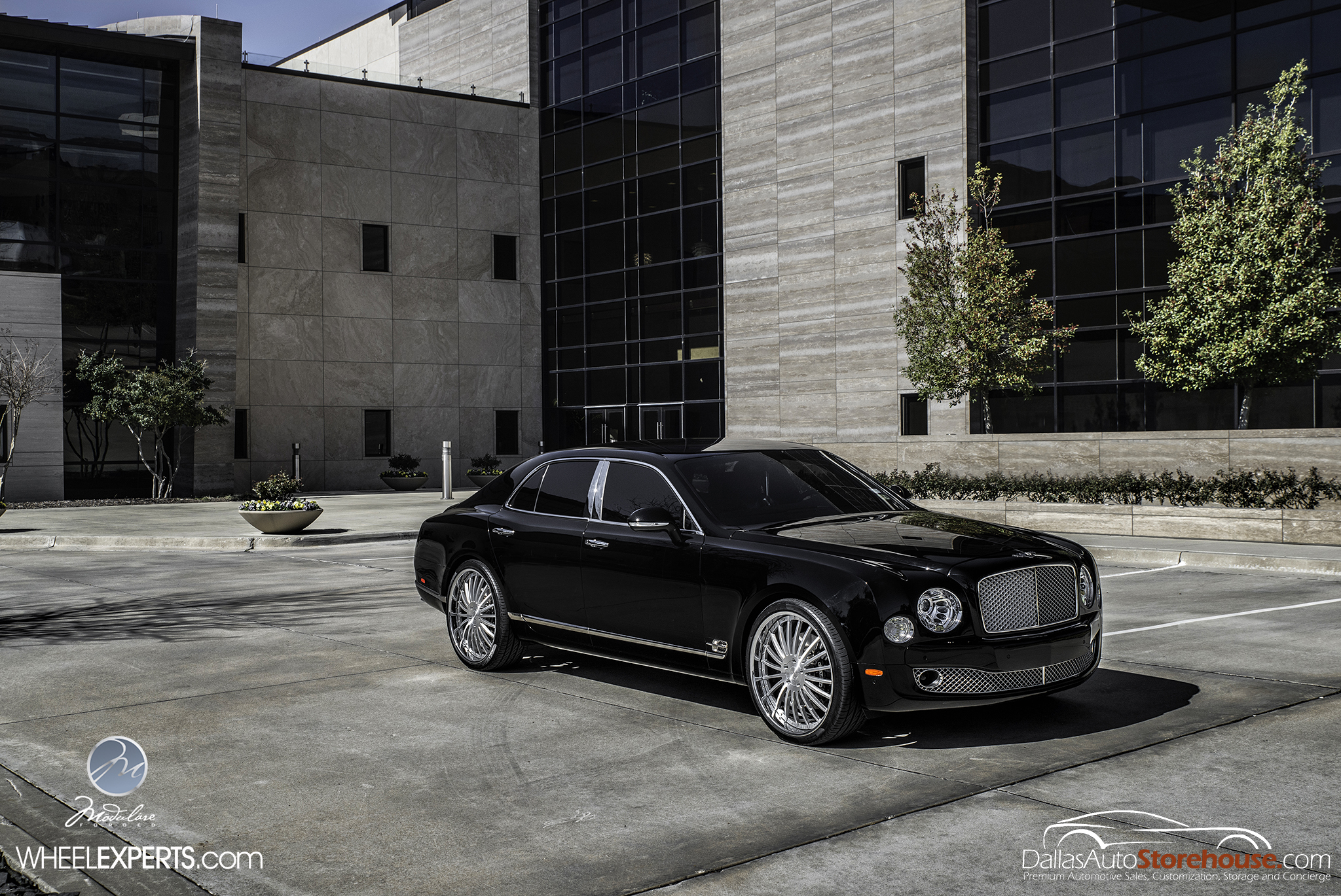 photo 7 Bentley Mulsanne Wheels Modulare M20 24x10.0, ET , tire size 285/30 R24. x ET