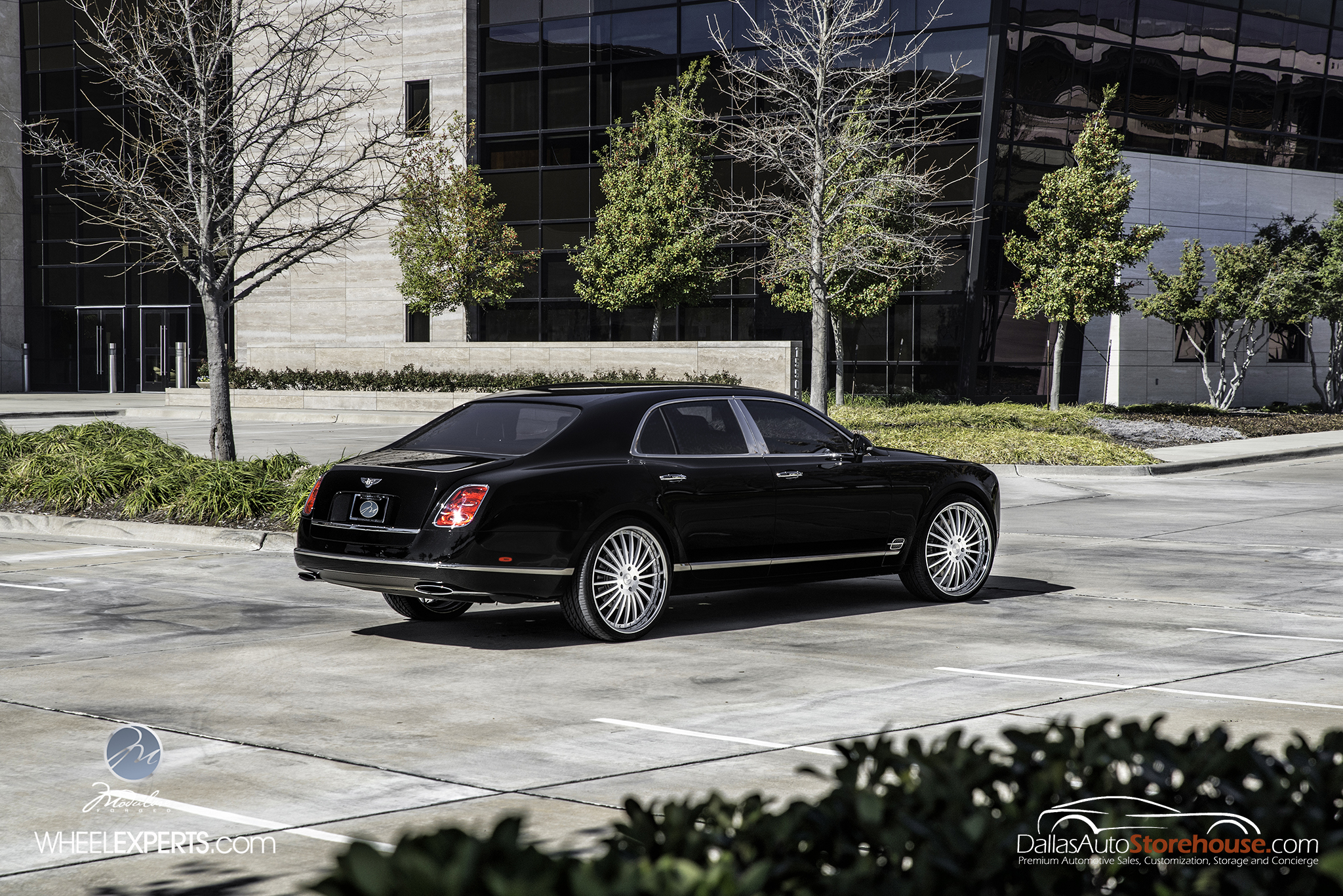 photo 8 Bentley Mulsanne Wheels Modulare M20 24x10.0, ET , tire size 285/30 R24. x ET