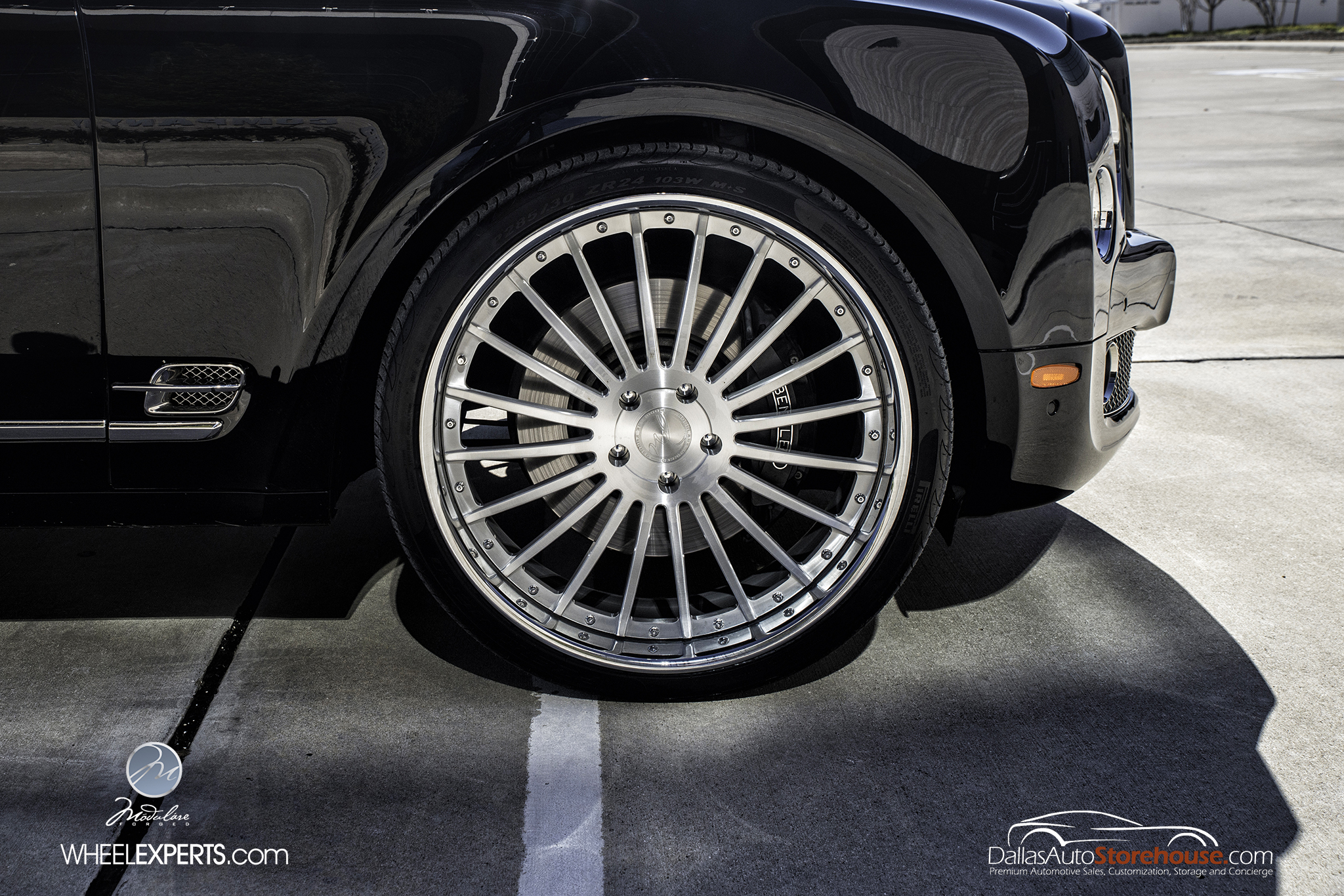 photo 10 Bentley Mulsanne Wheels Modulare M20 24x10.0, ET , tire size 285/30 R24. x ET