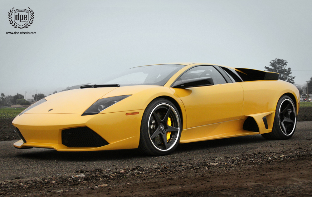 photo 3 Lamborghini  Murcielago custom wheels DPE CS-5 19x8.5, ET , tire size / R19. 20x13.0 ET