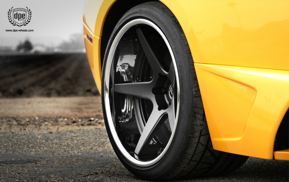 photo 1 Lamborghini  Murcielago custom wheels DPE CS-5 19x8.5, ET , tire size / R19. 20x13.0 ET