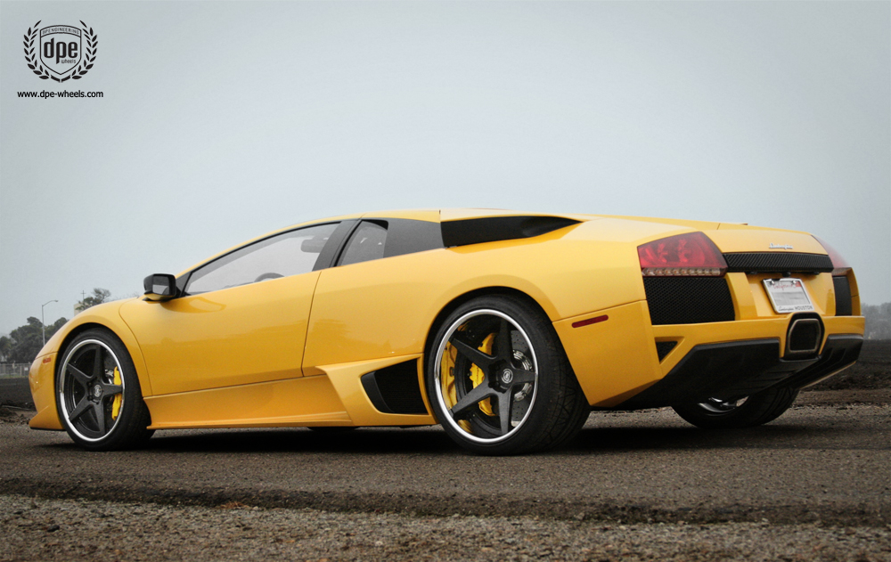 photo 4 Lamborghini  Murcielago custom wheels DPE CS-5 19x8.5, ET , tire size / R19. 20x13.0 ET