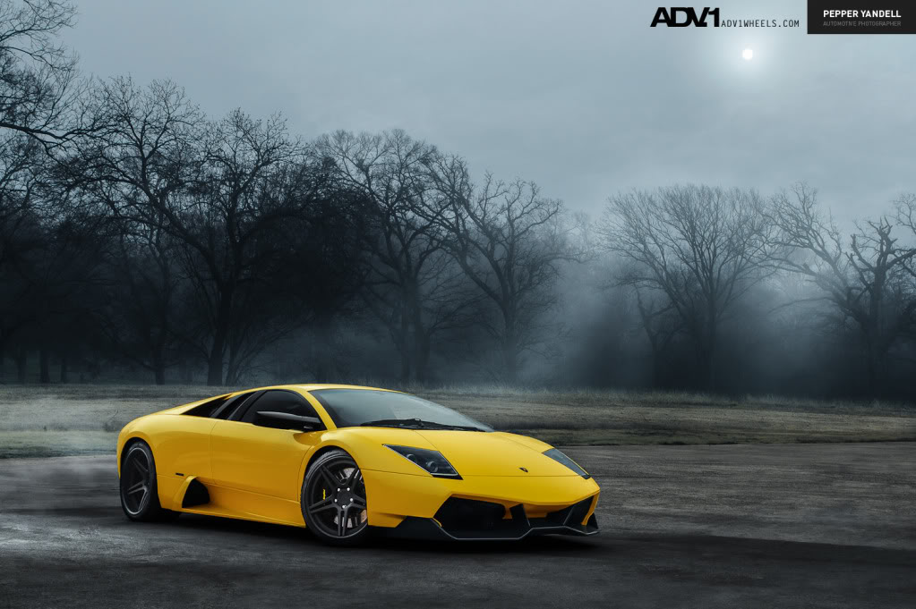 photo 2 Lamborghini  Murcielago custom wheels ADV1 05 19x8.5, ET , tire size / R19. 20x13.0 ET
