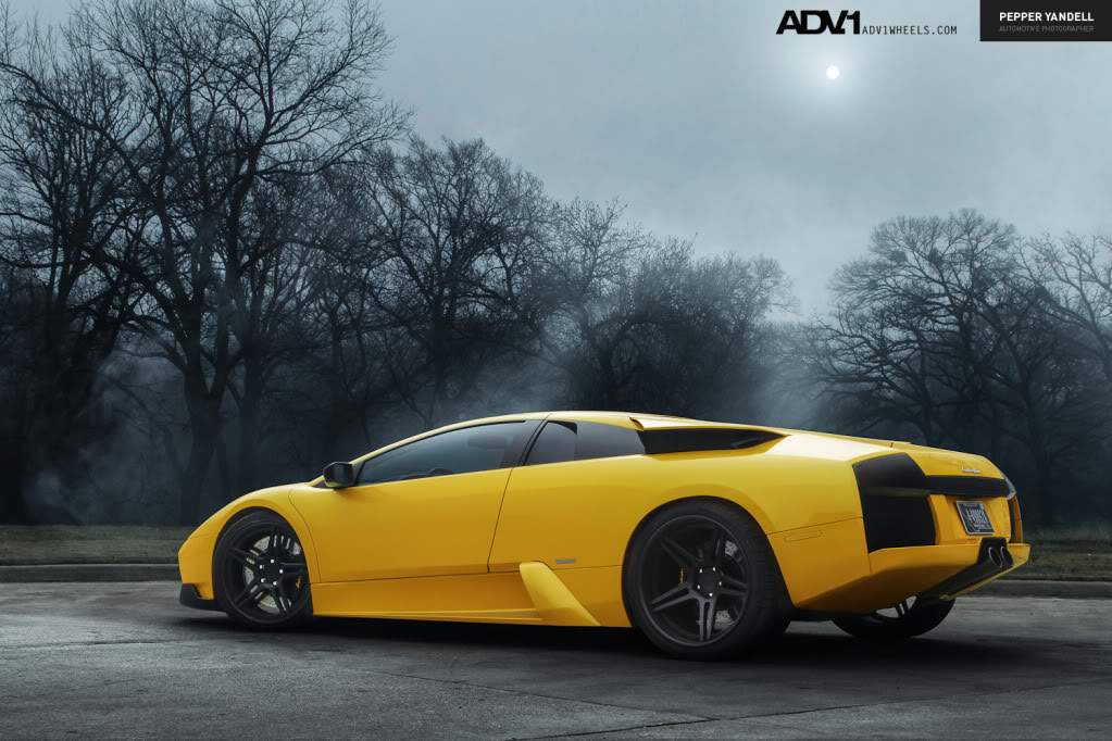 photo 3 Lamborghini  Murcielago custom wheels ADV1 05 19x8.5, ET , tire size / R19. 20x13.0 ET