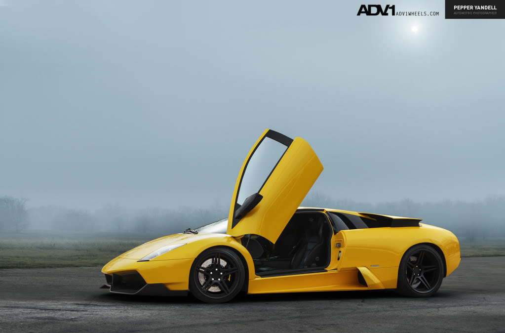 photo 4 Lamborghini  Murcielago custom wheels ADV1 05 19x8.5, ET , tire size / R19. 20x13.0 ET