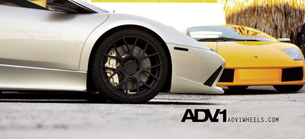 photo 1 Lamborghini  Murcielago custom wheels ADV7.1  19x8.5, ET , tire size / R19. 20x13.0 ET