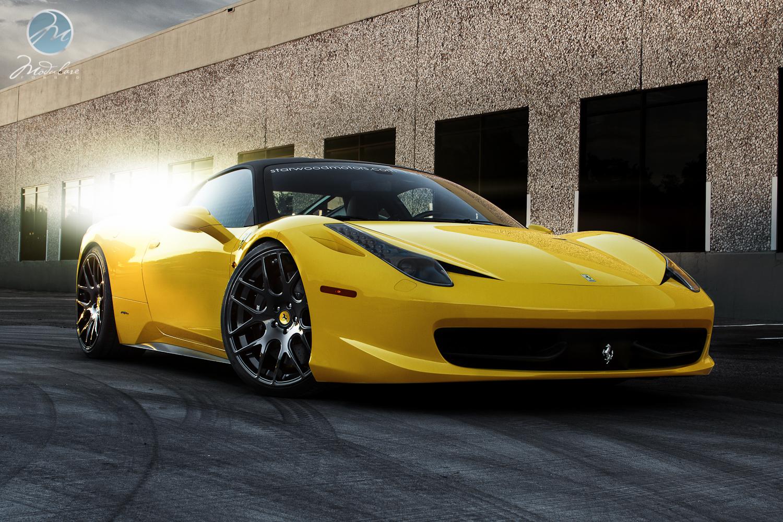 Ferrari 458 Italia Custom Wheels Modulare B1 21x9.0, ET