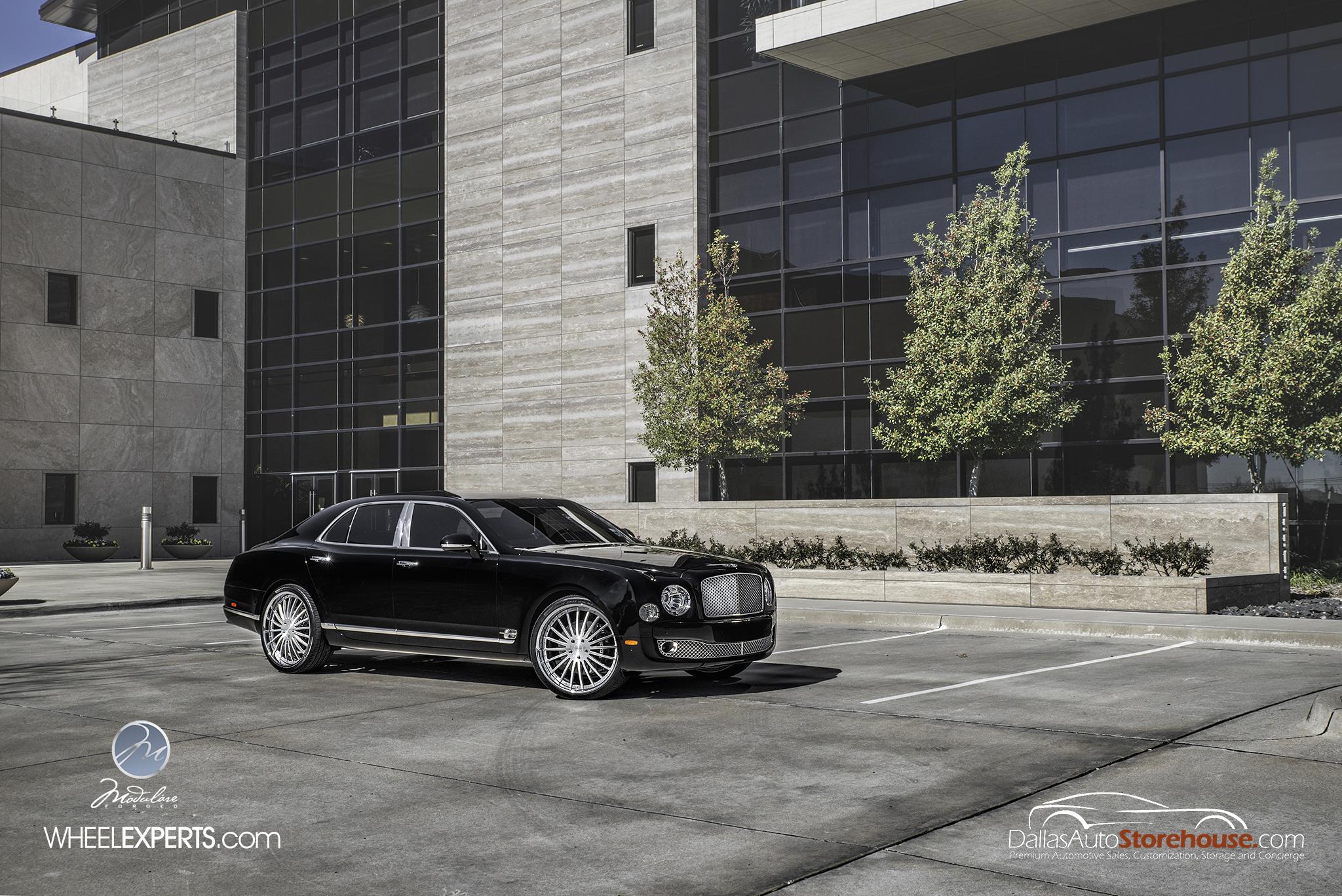 photo 10 Bentley Mulsanne Wheels Modulare M20 24x10.0, ET , tire size 285/30 R24. x ET