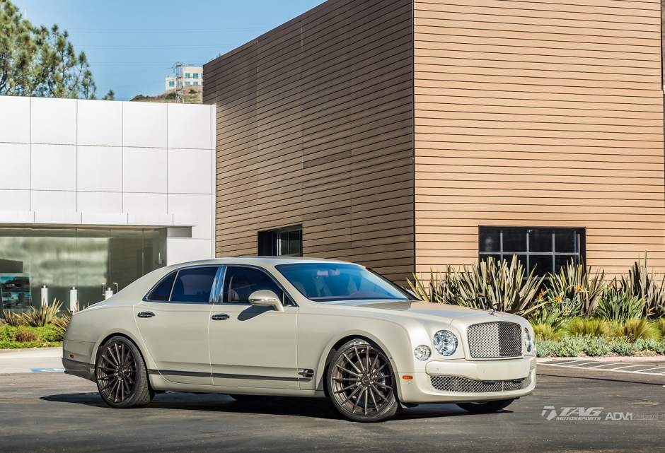 photo 8 Bentley Mulsanne Wheels ADV.1 15 MV2 SL 22x10.0, ET , tire size / R22. x ET